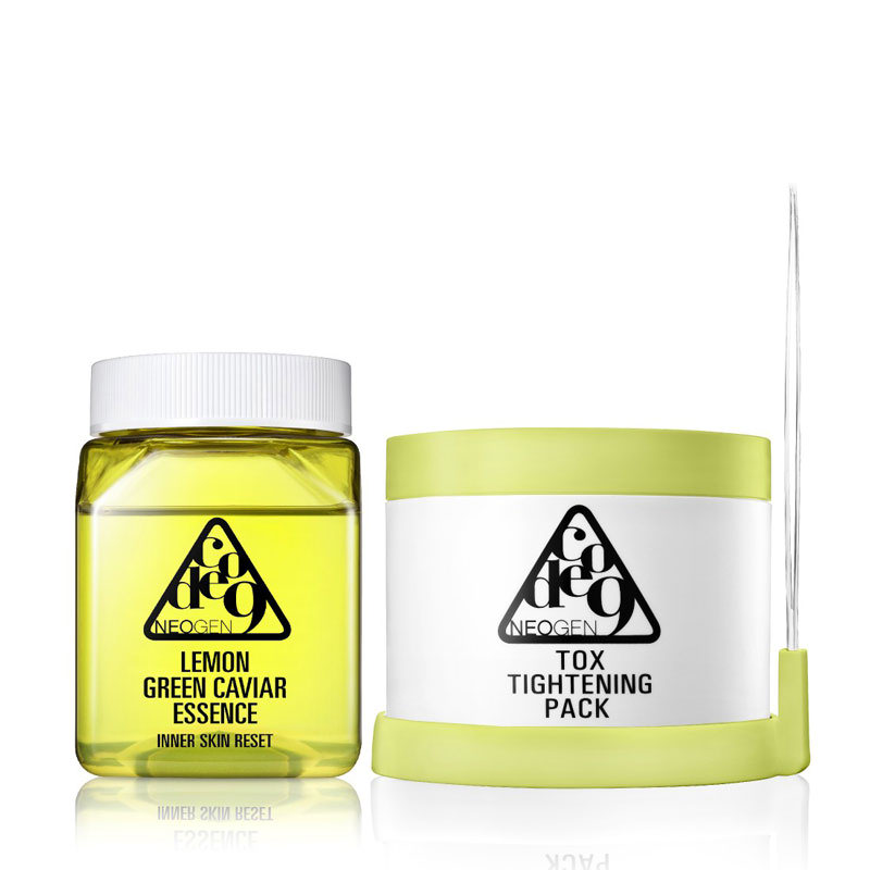 Lemon Green Caviar Essence & Tox Tightening (Free 2 Travel Pack)