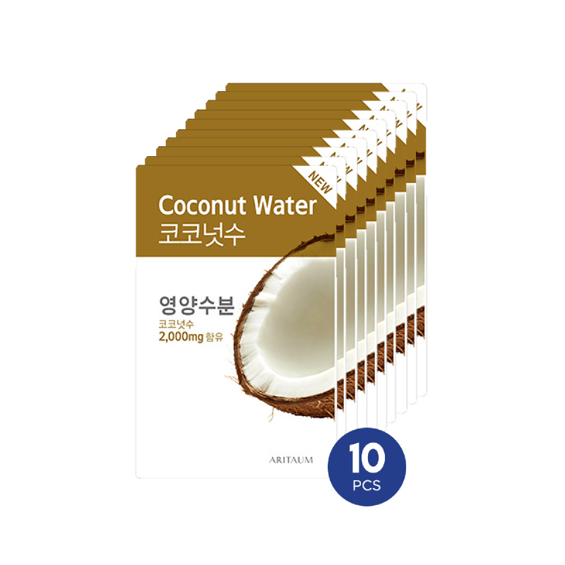 Aritaum Fresh Power Essence Mask Coconut Water 10pcs