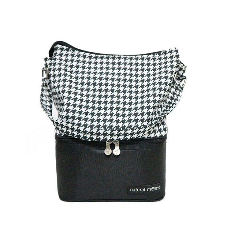 Natural Moms Thermal Bags - Tote Hounstooth