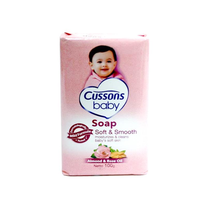 Cussons Baby Sabun Mandi Soft & Smooth 100 Gr