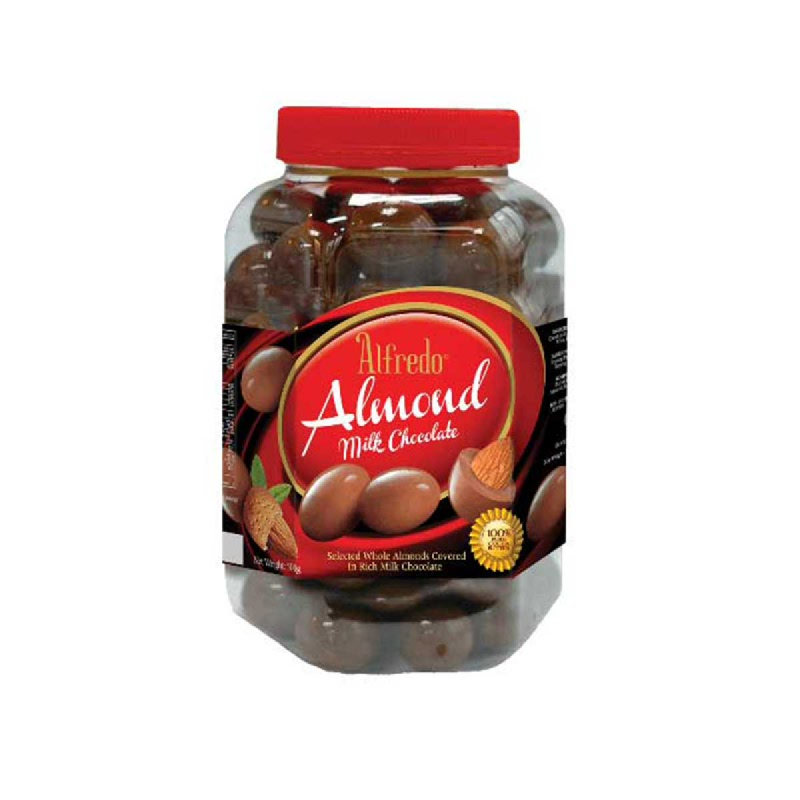 Alfredo Coklat Almond Milk 450g