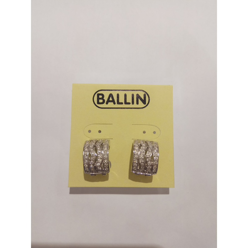 Ballin Women Earing GD-E20374S Silver