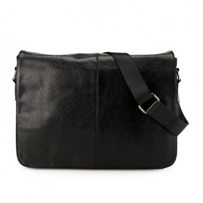 Phillipe Jourdan Savalas Messenger Bag Black
