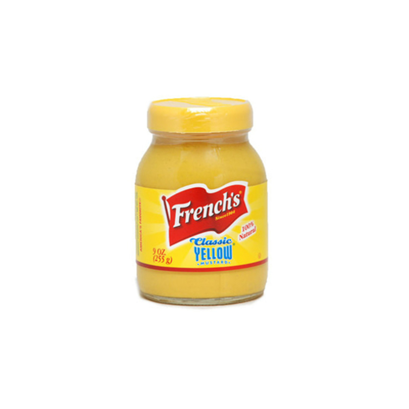 French Class Yellow Mustard 9 Oz