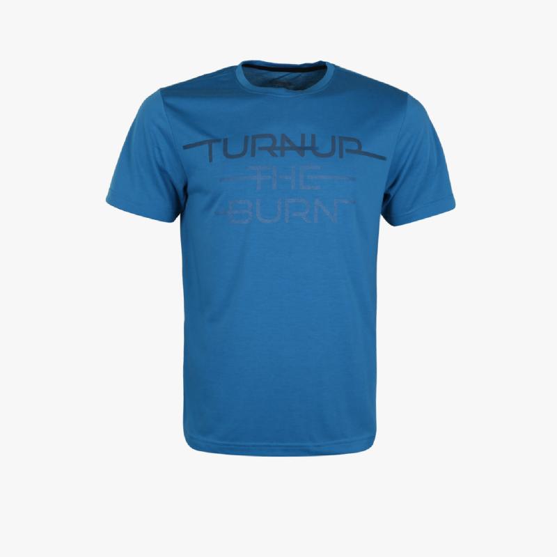 Diadora Tarik Z Men T-Shirts Blue