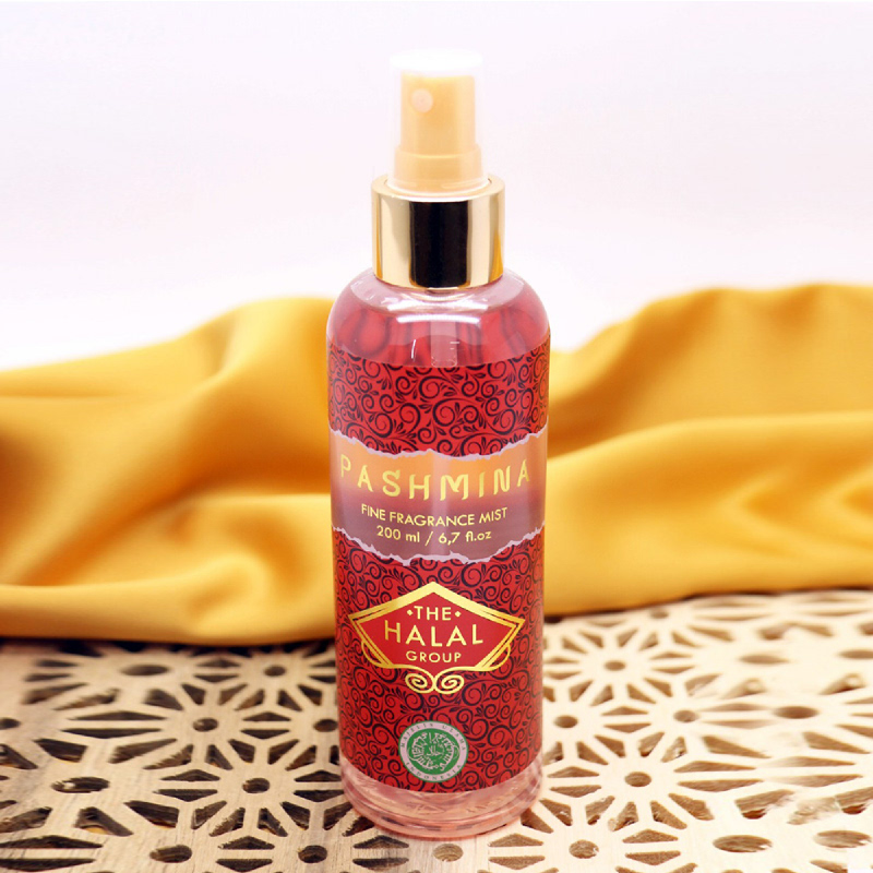 The Halal Group Fine Fragrance Mist Pashmina 200ml