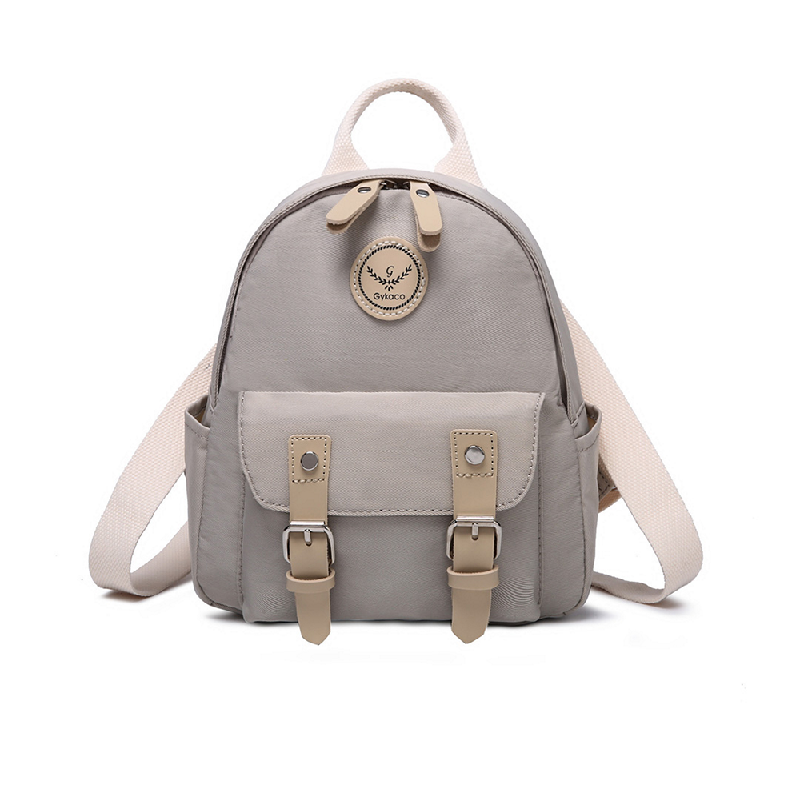 GYKACO VANORA Beige - Tas Ransel Wanita - Fashion Backpack (Import)