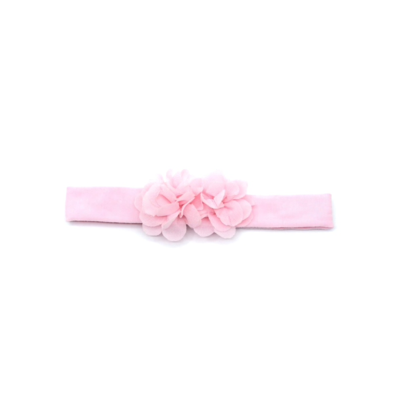 BabyLand Simply Pinky Flowery Headband SPF001