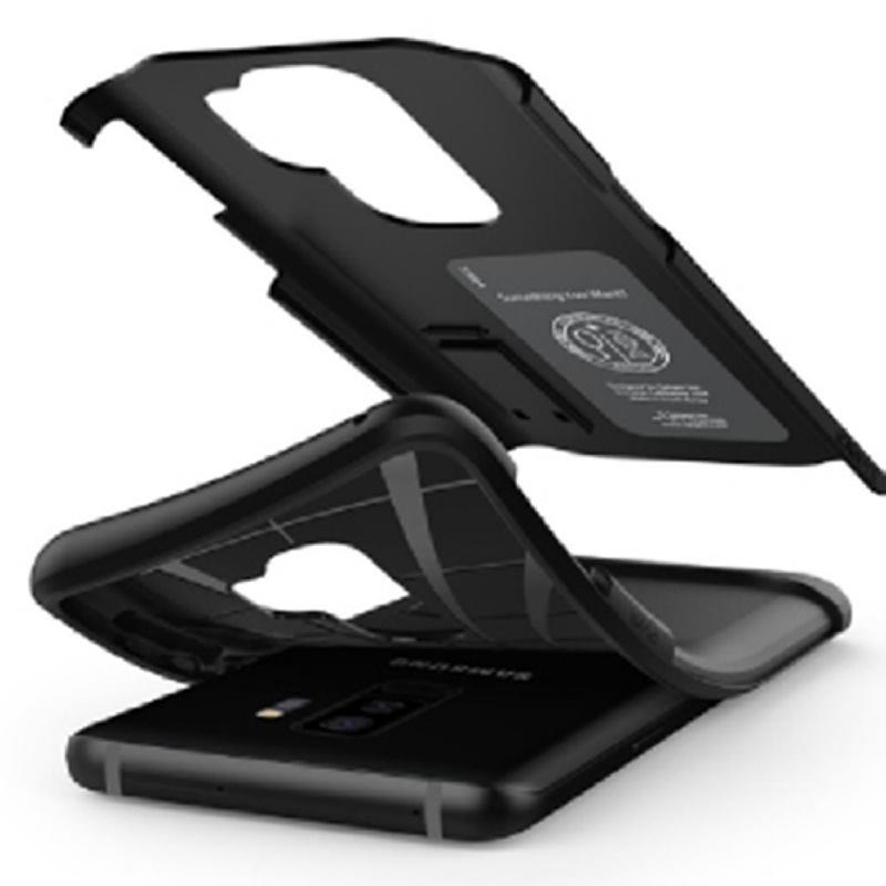 Spigen Galaxy S9+ Case Slim Armor - Black