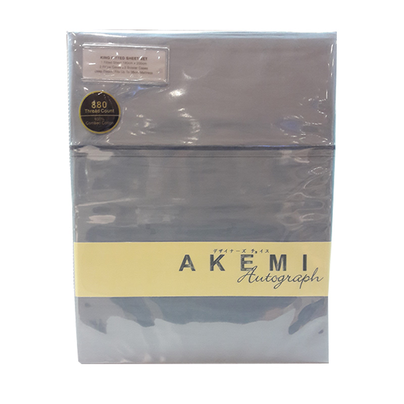 Akemi Autograph Leighton Collection QFS 160x200 HANSEN BOX SHADOW BLUE