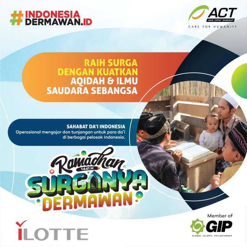 ACT Sahabat Dai Indonesia 75K