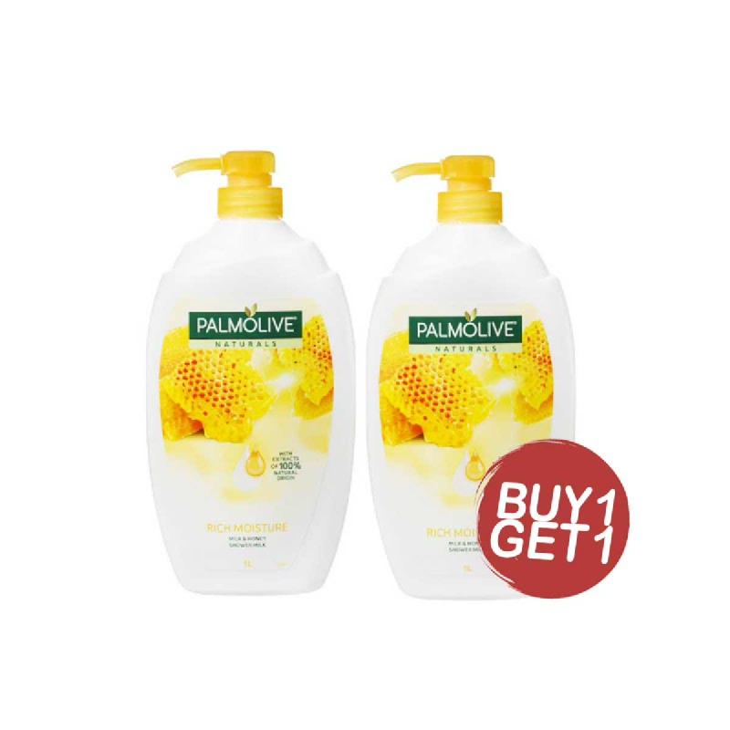 Palmolive Sabun Mandi Milk & Honey 1L (Buy 1 Get 1)