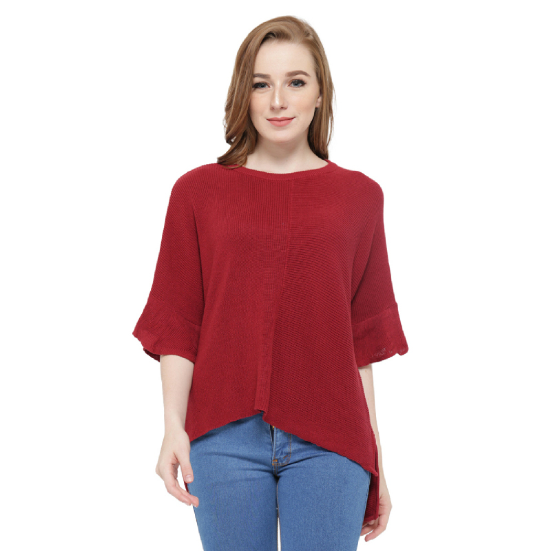 Knitwork Red Batwing KKL-20C