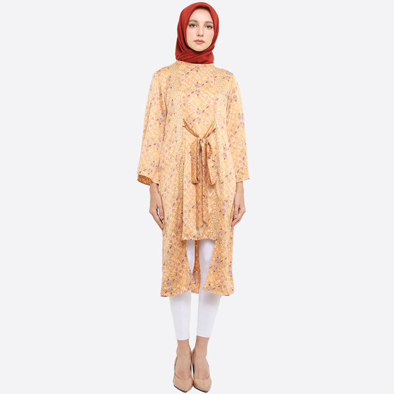 Anakara Tunic Ikat Yelinela Brown