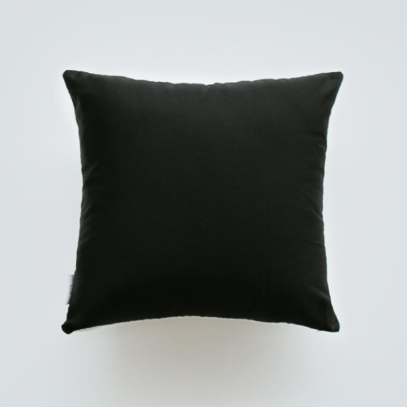 Bamboo Panda Bantal Sofa - Black & White 40x40cm
