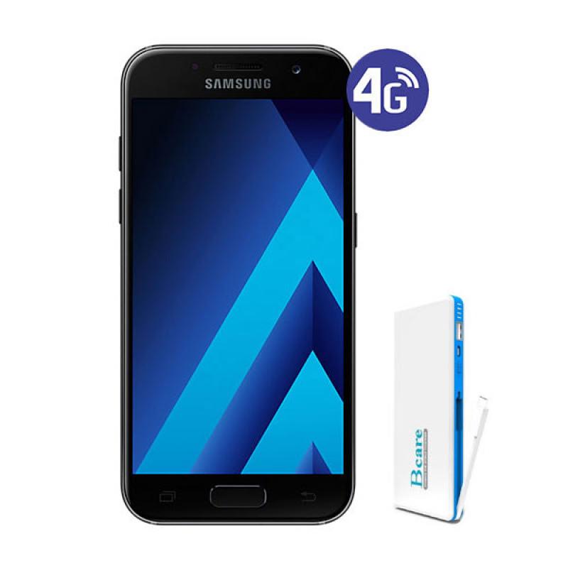 Samsung Galaxy A3 A320Y 2017 Hitam (16GB, 2GB RAM, 4G LTE)