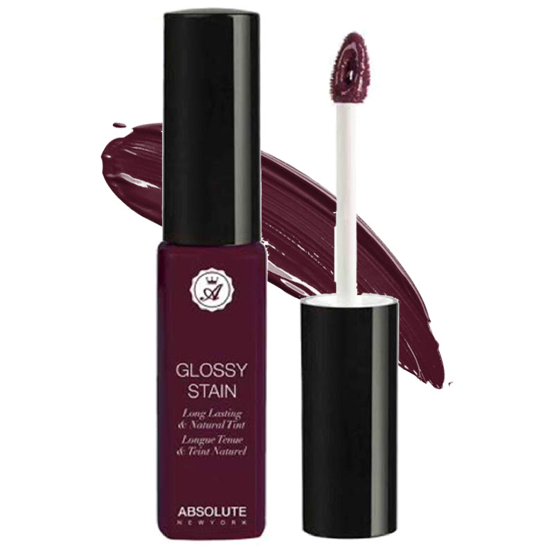 Absolute New York Glossy Stain Long Lasting & Natural Tint Infamous