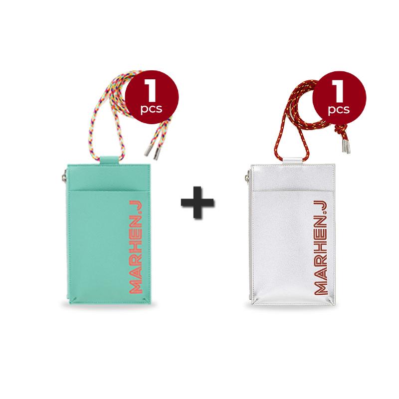 Marhen J Lolly Bag - Neo Mint + Shine Silver