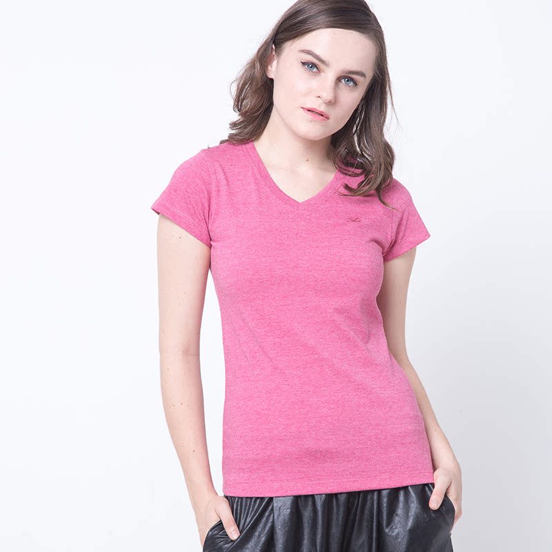 Viton-R82 Red T-Shirt Vneck