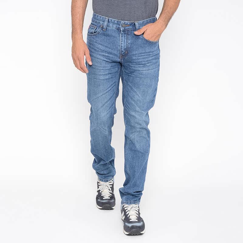 Carvil Men Jeans Oscar A4.OSC.BLU.G1 Blue Denim