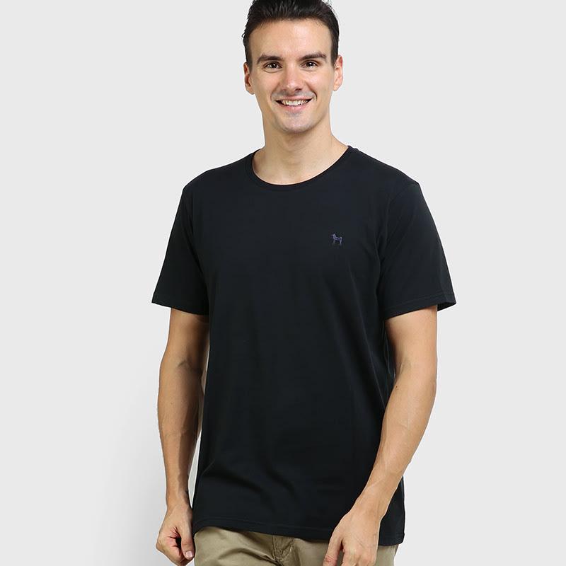 Mon Akita Alexandre Tshirt Jet Black
