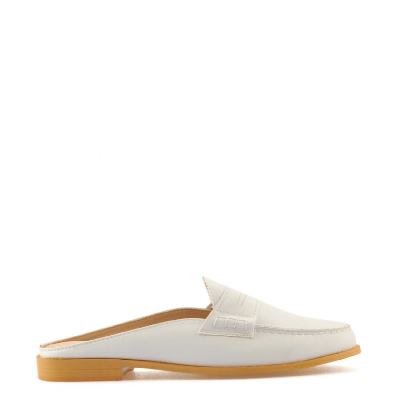 Amante Flat Shoes Maggie J18 White