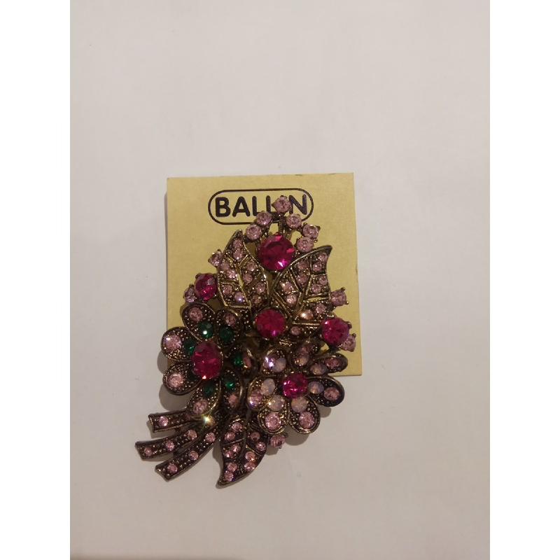 Ballin Women Brooch TM-BR61GP Purple
