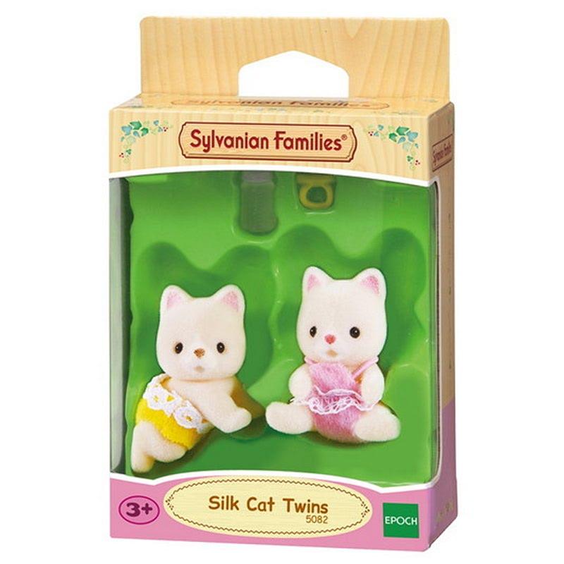 Sylvanian Families Silk Cat Twins ESFW50820