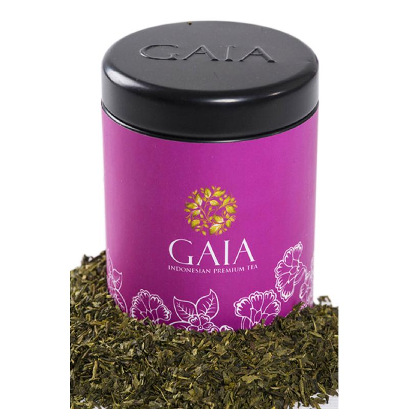 Gaia Tea - Genmaicha Kaleng Kecil