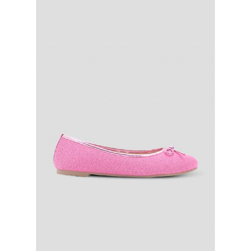 The Little Things She Needs Flat Shoes Aleda Soft Pink Metalic