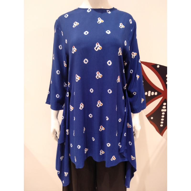 Astari Batik Blouse Blue