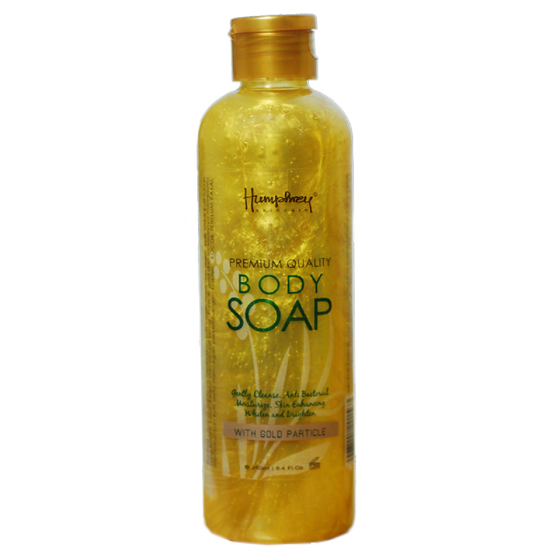 HUMPHREY SKIN CARE BODY SOAP GOLD PARTICLE 250 ML