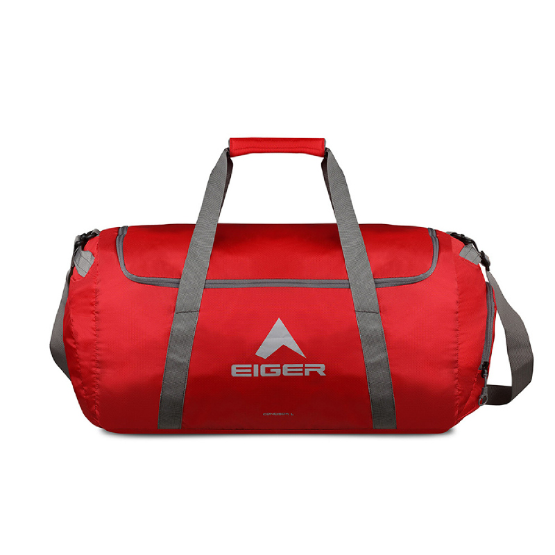 Eiger Concisor Folded Duffle Bag 60L - Red