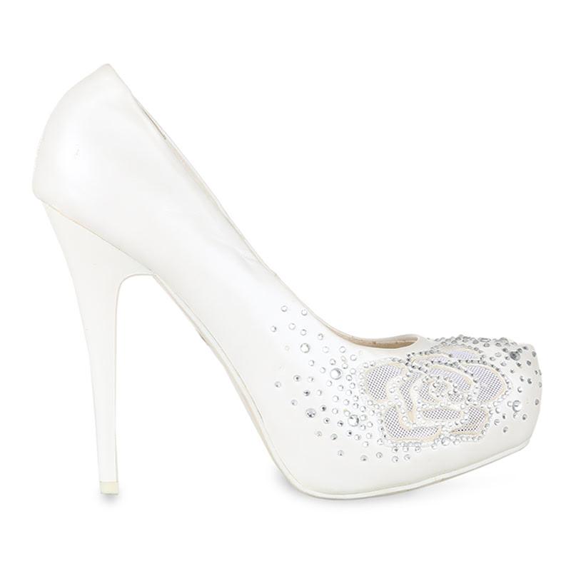 Winston Smith Heels 194-C216-White