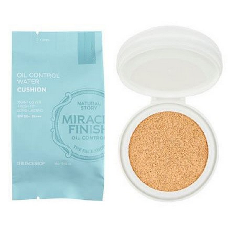 The Face Shop Oil Control Water Cushion SPF50+ PA+++ No. 203 (Refill)