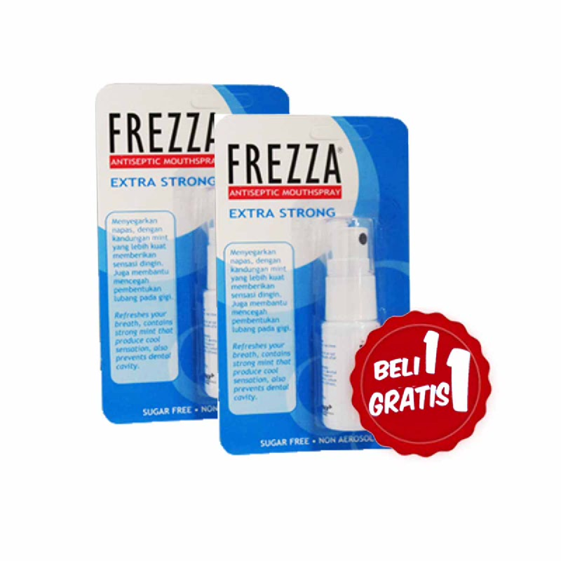 Frezza Antiseptic Mouthspray Extra Strong 13 Ml (Buy 1 Get 1)