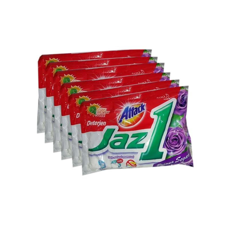 Attack Jaz 1 Pesona Segar Powder Detergent 50 gr x 6 pcs