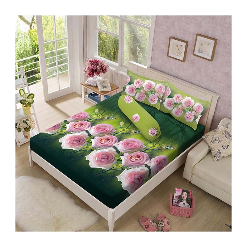 Kintakun Luxury Sprei 160 x 200 B4 Queen The Dove