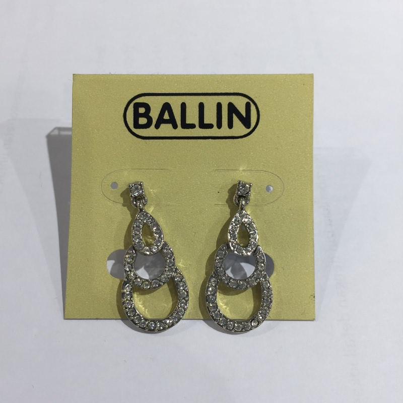 Ballin Women Earing YZ-E1284S Silver