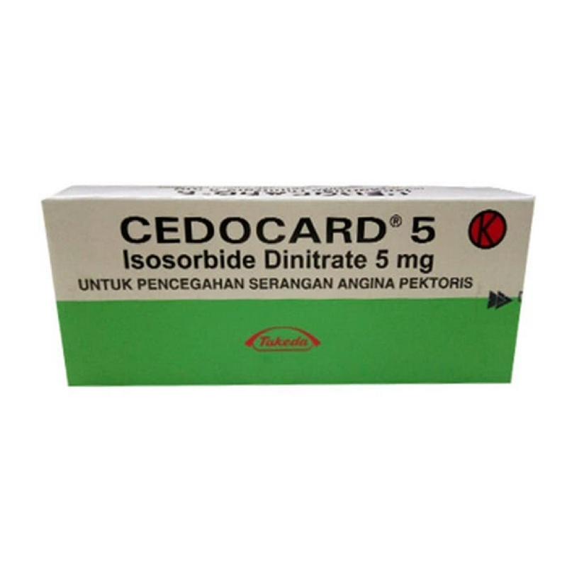 Cedocard 5 mg Tab
