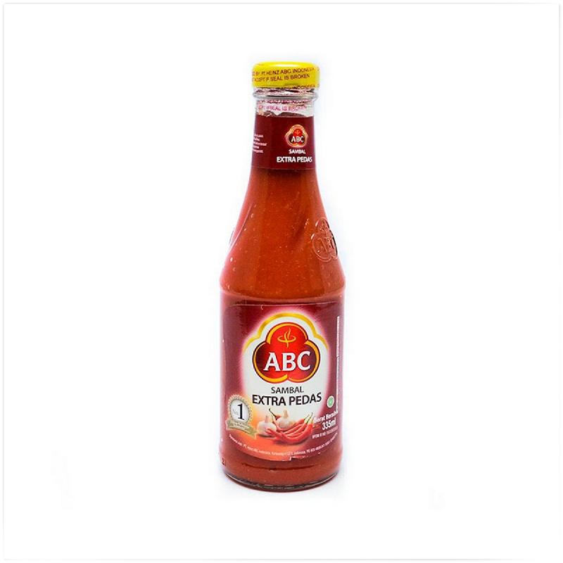 Abc Sambal Manis Pedas 335Ml [Botol]