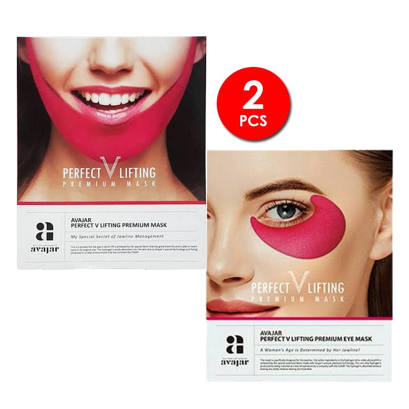 Avajar Perfect V Lifting Premium Mask + Eye Mask