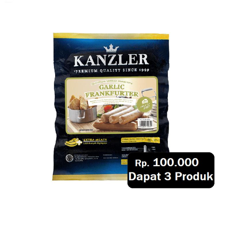 Kanzler Garlic Frankfurter 300 Gr (Rp. 100.000 Dapat 3)