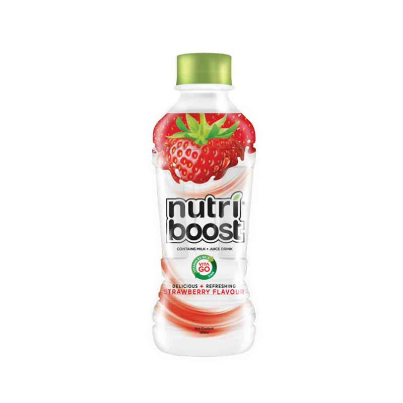 Minute Maid Nutriboost Strawberry 300 Ml