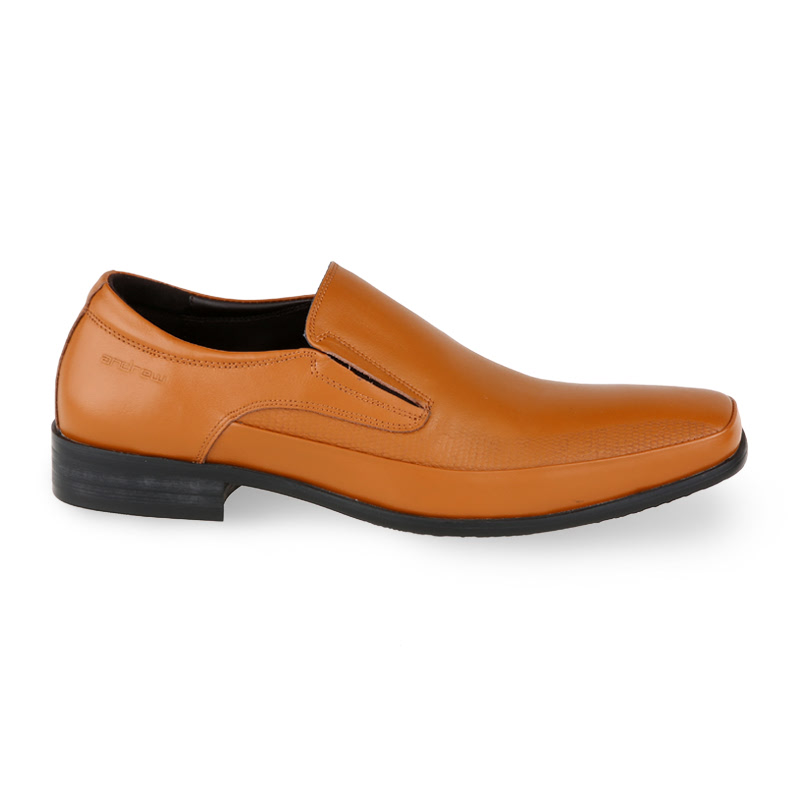 Andrew Hobbes Formal Shoes Pria Coklat