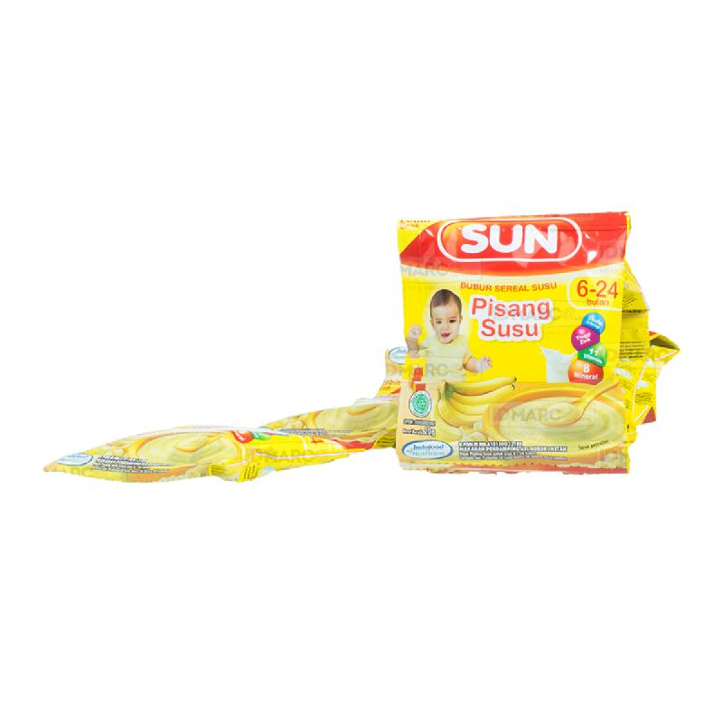 SUN Bubur Sereal Susu Pisang Susu Sachet