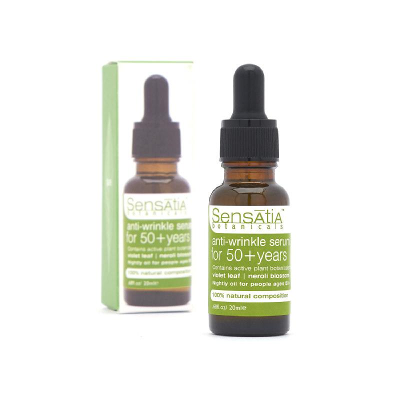anti-wrinkle serum for 50+ years - 20ml