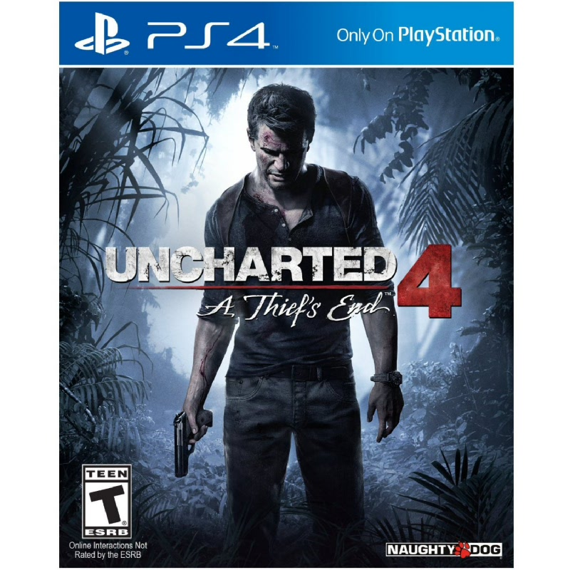 PS4 Uncharted 4 A Thiefs End Reg All