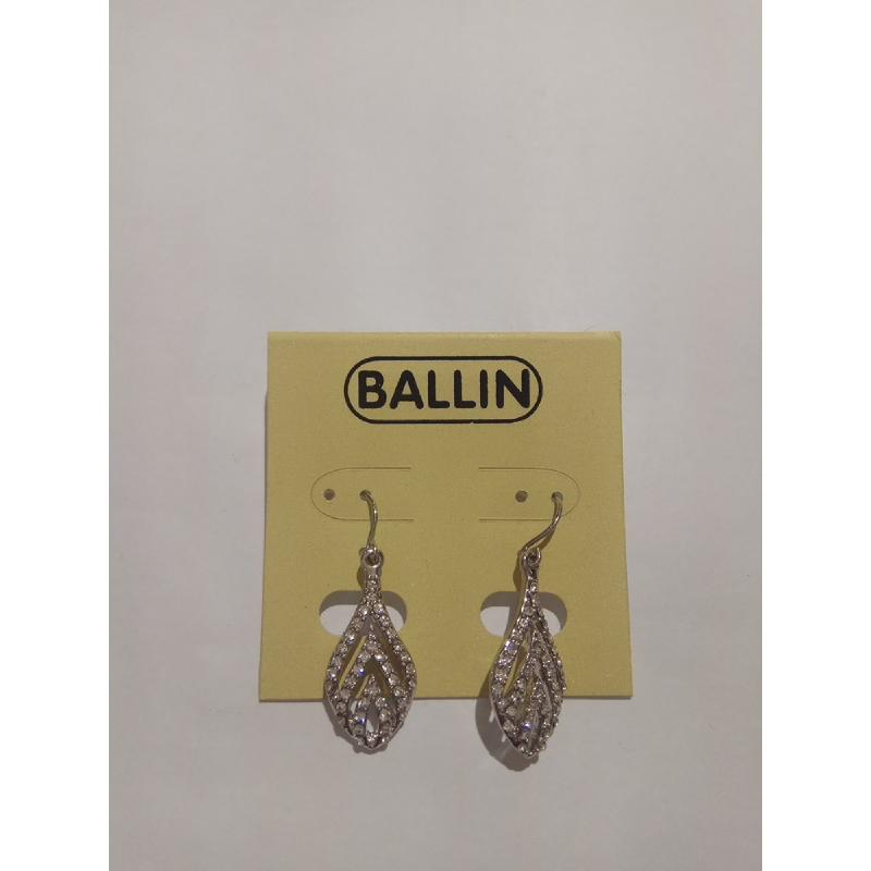 Ballin Women Earing YZ-E591S Silver