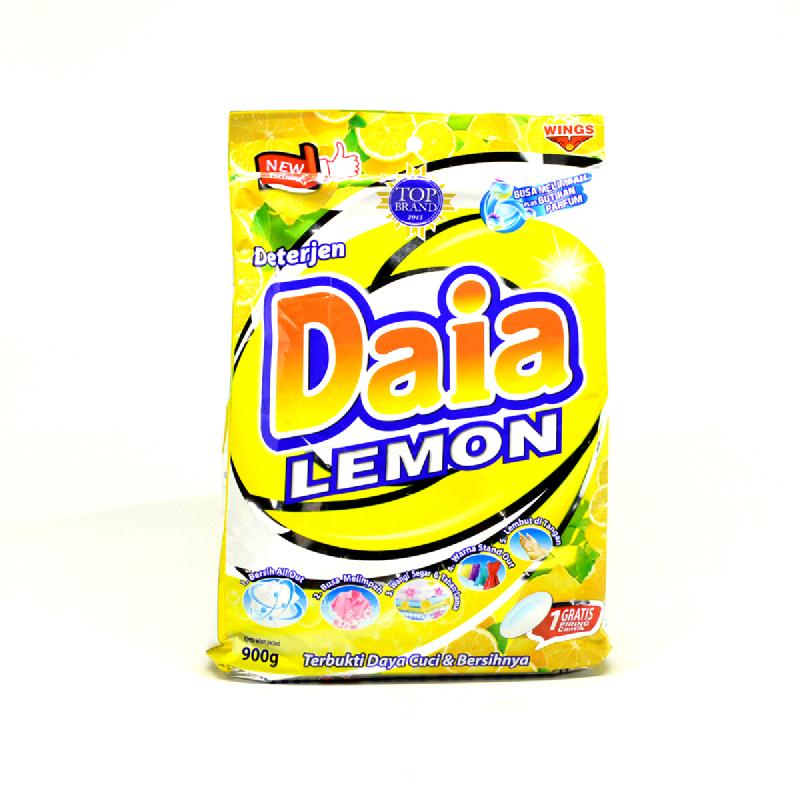 Daia Detergen Lemon Bag 900 Gr